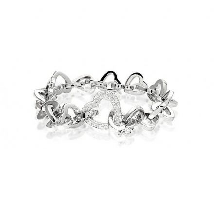 9K White Gold 0.40ct Diamond Bracelet, G1201
